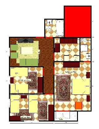 Sell Apartment - 3 Rooms - in Al Hai Al Thani - 6th October - 130 meter - 350000 Egyptian pound