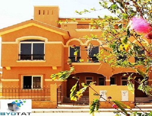 Town house middle in Dyar Park overlooking landscape and lakes for sale /  Sell Chalet - 3 Rooms - Cairo - 243 meter - 2850000 Egyptian pound